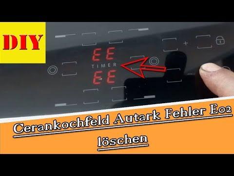 👉 Bauknecht Ceranfeld I Kochfeld Autark Fehlercode E02 E2 ? Die Lösung !!!