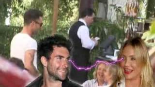 Cameron Diaz flirtet mit dem Sänger von Maroon 5! - smash247.com