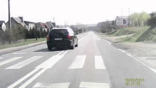 preview picture of video 'Styków - wyprzedzanie na pasach'