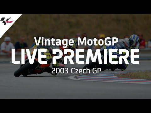 MotoGP 2003年に行われたMotoGP チェコGP レースフル動画