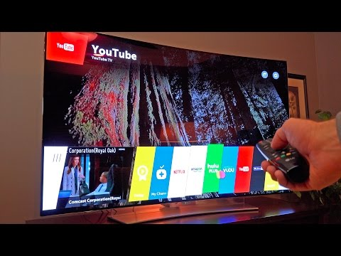 World's Best TV? LG 65″ Curved OLED 4K Ultra HDTV: Unboxing & Review