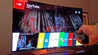 "World's Best TV? LG 65"" Curved OLED 4K Ultra HDTV: Unboxing & Review"