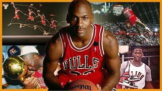 El hombre que podía VOLAR   Michael Jordan HISTORIA