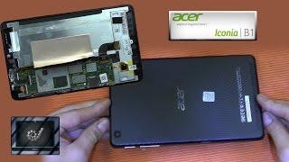 Demontage Zerlegen Acer Iconia one 7 reperatur B1 Series Ausbau