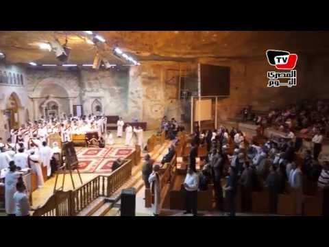 الاحتفالات بعيد القيامة المجيد في دير سمعان الخراز