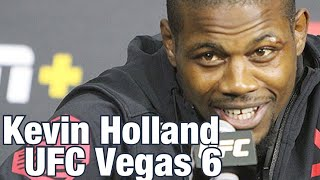 Kevin Holland: Mike Perry Needs A Texas Smackdown | UFC Vegas 6 Post-Fight