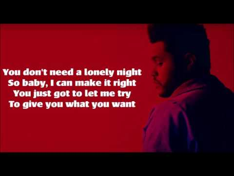 I Feel It Coming  - The Weeknd Feat Daft Punk On Screen Lyric Original Cover Video
