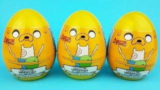 Adventure Time Surprise Eggs Opening - Adventure Time Surprise Eggs Toys