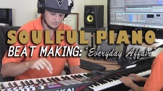 "Piano Sample Hip Hop Beat Making Video 2016 - ""Everyday Affair"" (prod.  by TCustomz)"