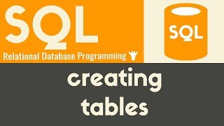 Creating Tables - SQL - Tutorial 6