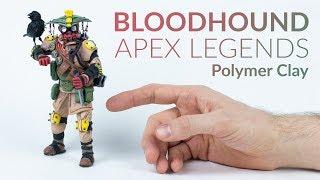 Bloodhound (Apex Legends) – Polymer Clay Tutorial