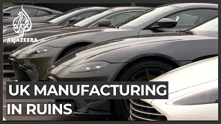 UK manufacturing industry 'on brink of historic collapse'