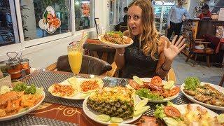 Пробуем деликатесы в Таиланде! Креветка БОГОМОЛ, Краб в соусе Чили. Еда в Таиланде, Пхукет