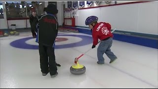 CURLING Throwing Stones - Little Rocks Oromocto