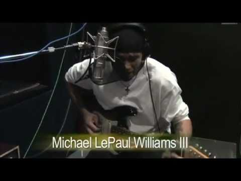 Michael Williams Band - Fire Red - Eddie Kramer teams up with Michael Williams Band
