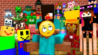 Monster School : BREWING All Monsters - Minecraft Animation