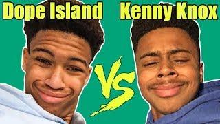 Dope Island Vines VS Kenny Knox Vines | Who Is The Winner?