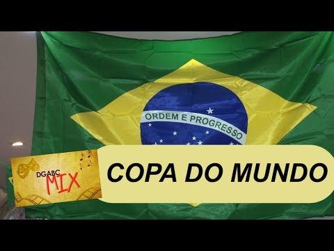 Equipe do DGABC MIX confere nas ruas o clima de Copa do Mundo