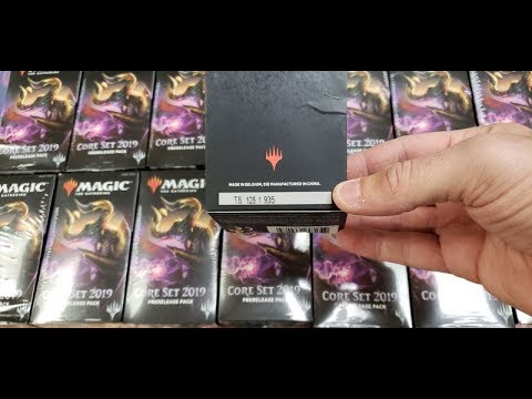 "Store caught re-sealing ""new"" Magic card packs with super glue and shrink wrap"