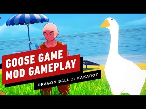 This Dragonball Z Kakarot Mod Uses The Goose From The Untitled Goose Game