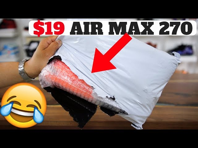 I Bought $17 Knockoff Air Max 270s, THIS Is What I Got... 😂😂