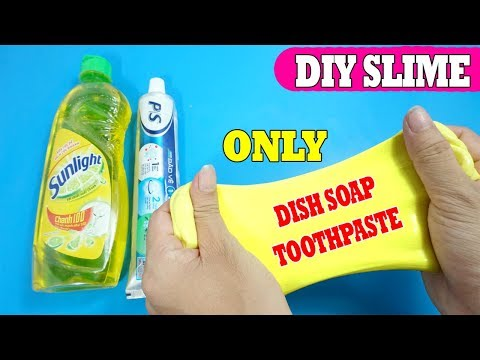 2 ingredient slime slime with dish soap and sugar how to make slime how to make slime dish soap salt and toothpaste no glue play ccuart Image collections