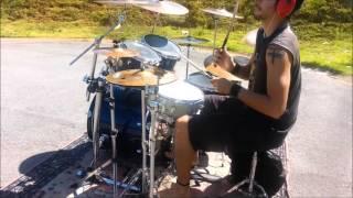 DRAGONFORCE - FALLEN WORLD (Alessandro Kelvin - Drum Cover)