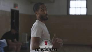 "Basketball Skills training lesson 1 ""Ball handling skills"" w/skillmatic"