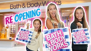 First Time Shopping At Reopening Of Bath & Body Works! Its R Life