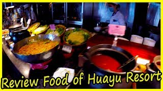 Hotel Meal Review for Breakfast. What is fed at the hotel Huayu Resort & Spa Yalong Bay Sanya