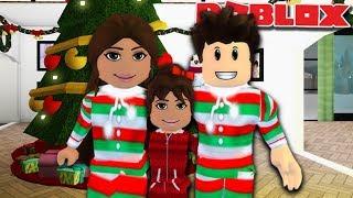 CHRISTMAS EVE FAMILY ROUTINE   Roblox Bloxburg Family
