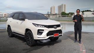 รีวิว เจาะลึก Toyota Fortuner 2.8 GR Sport 4WD ราคา 1,899,000 บาท