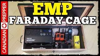EMP Prepping: Building a Good Faraday Cage