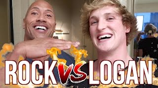 GETTING PUNCHED BY THE ROCK! (Ft. Dwayne Johnson)