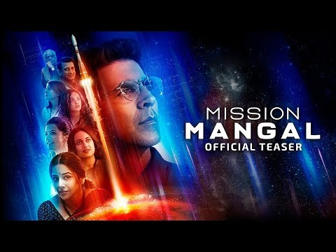 Mission Mangal | Official Teaser | Akshay | Vidya | Sonakshi | Taapsee | Dir:Jagan Shakti | 15th Aug