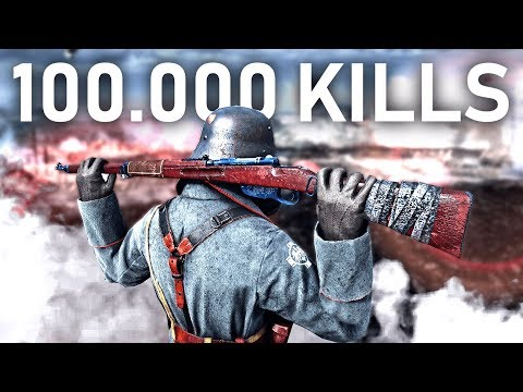 This Is What 100,000 KILLS in Battlefield 1 Looks Like..