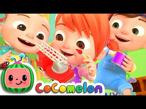 The Car Color Song | CoCoMelon Nursery Rhymes & Kids Songs