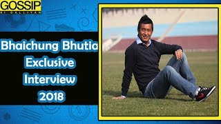 Bhaichung Bhutia Interview 2018 L Hamro Sikkim Launch