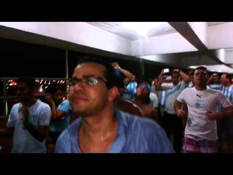 """Alma Celeste em 22/10/2013 Paysandu 1 x Abc 0"" Barra: Alma Celeste • Club: Paysandu"