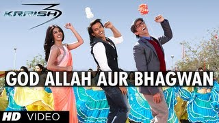 'God Allah Aur Bhagwan Krrish 3' Video Song | Hrithik Roshan, Priyanka Chopra, Kangana Ranaut
