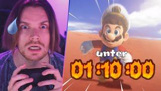 UNTER 1H 10 MIN DURCHSPIELEN MÖGLICH?!   Mario Odyssey (Speedrun SPECIAL 2)