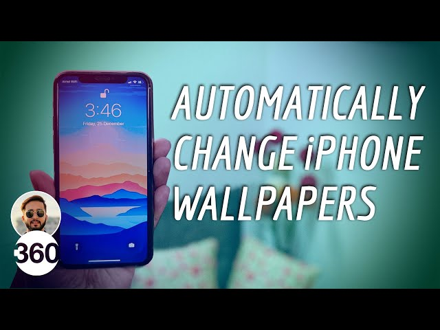Ios 14 How To Automatically Change Your Iphone S Wallpaper Ndtv Gadgets 360