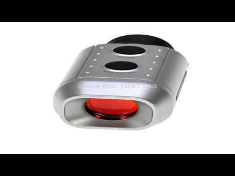 HDE Pocket Size Digital Precision Golf Rangefinder Distance Measure Scope M