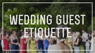 Wedding Etiquette ...... do's and don'ts