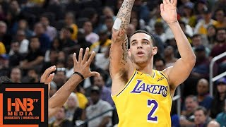 Lonzo Ball (8 pts, 6 reb, 7 ast) Full Highlights vs Warriors | 10.12.2018, NBA Preseason