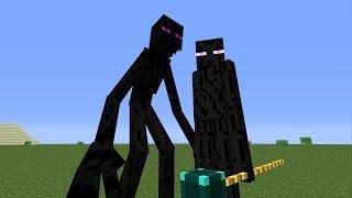 Mutant Enderman VS Ender Lord - MVM BATTLE #05