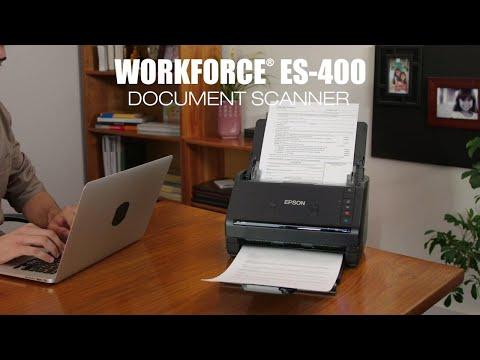 Workforce es 400 duplex document scanner workgroup document epson us experience the workforce es 400 duplex document scanner reheart Image collections