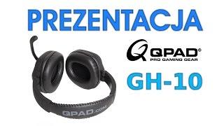 Unboxing i Test Słuchawek Dla Graczy Qpad GH-10 - HardPC TV #120