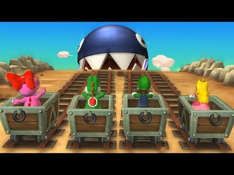 Mario Party 9 - Chain Chomp Romp & Other Minigames| Cartoons Mee
