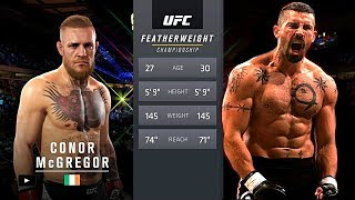 UFC БОЙ Конор Макгрегор vs Юрий Бойка (com.vs com.)